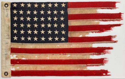 US Flag from PT 109 MO 6846jpg